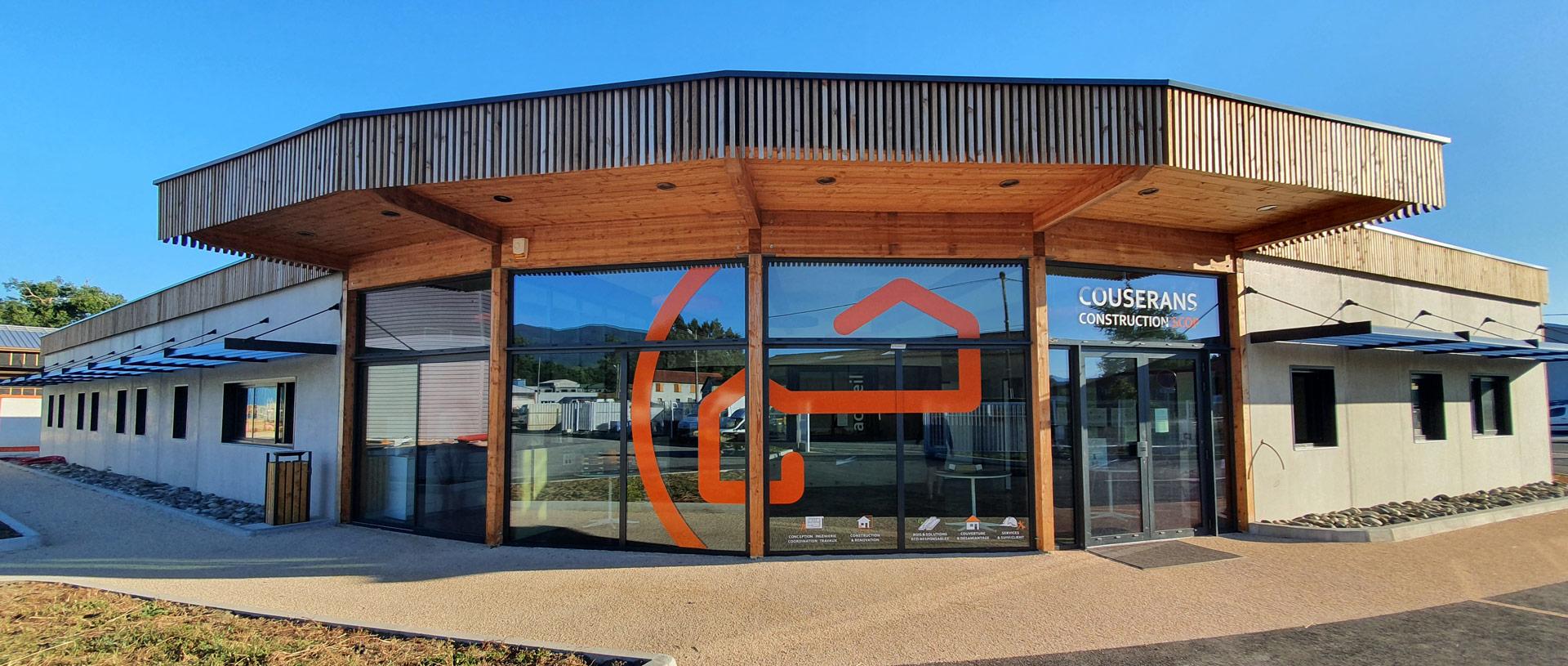 Les nouveaux locaux de Couserans construction
